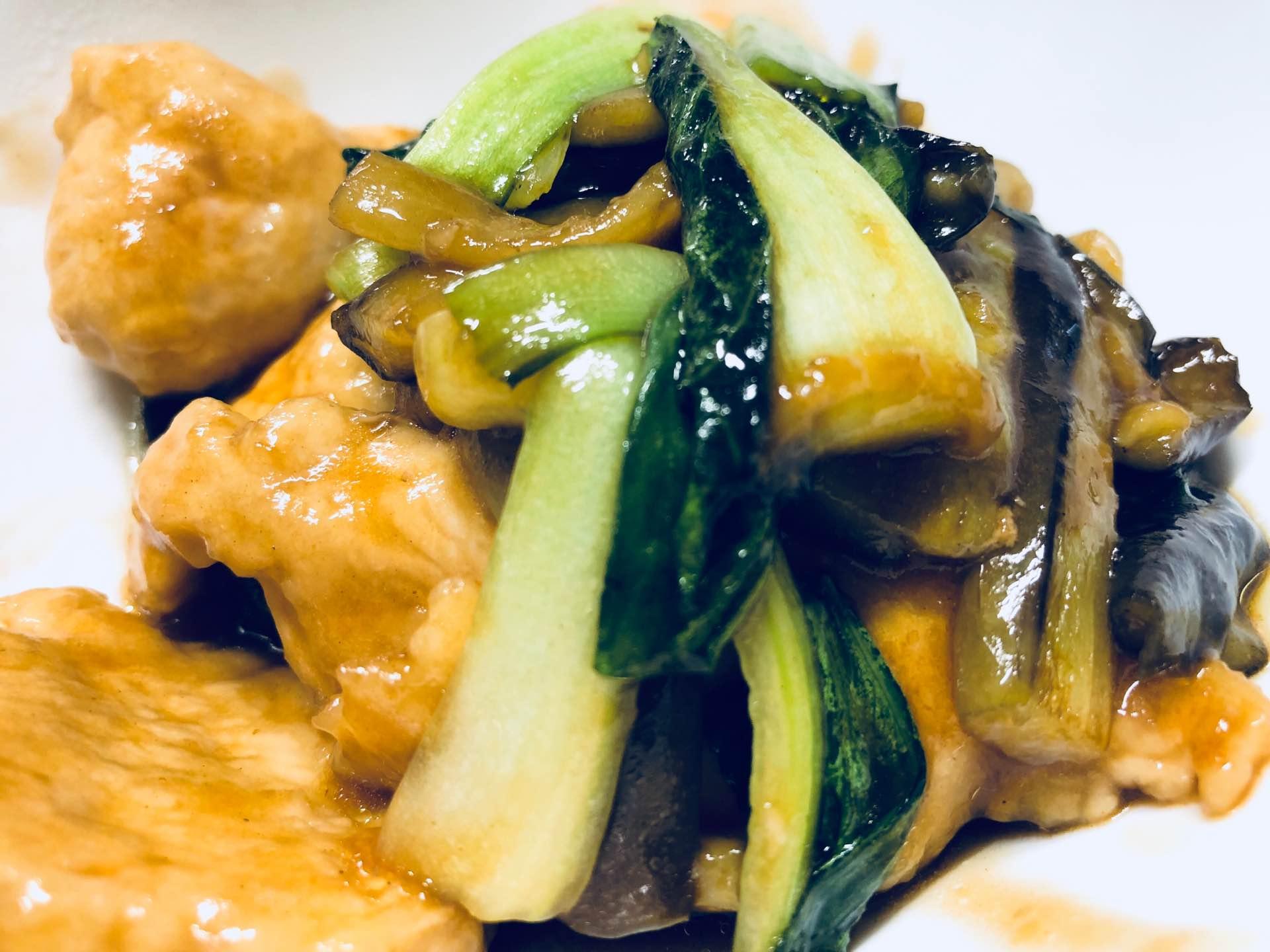 鶏肉と茄子の旨醤油炒め (゚д゚)ウマー https://t.co/ELpgXDWAOr