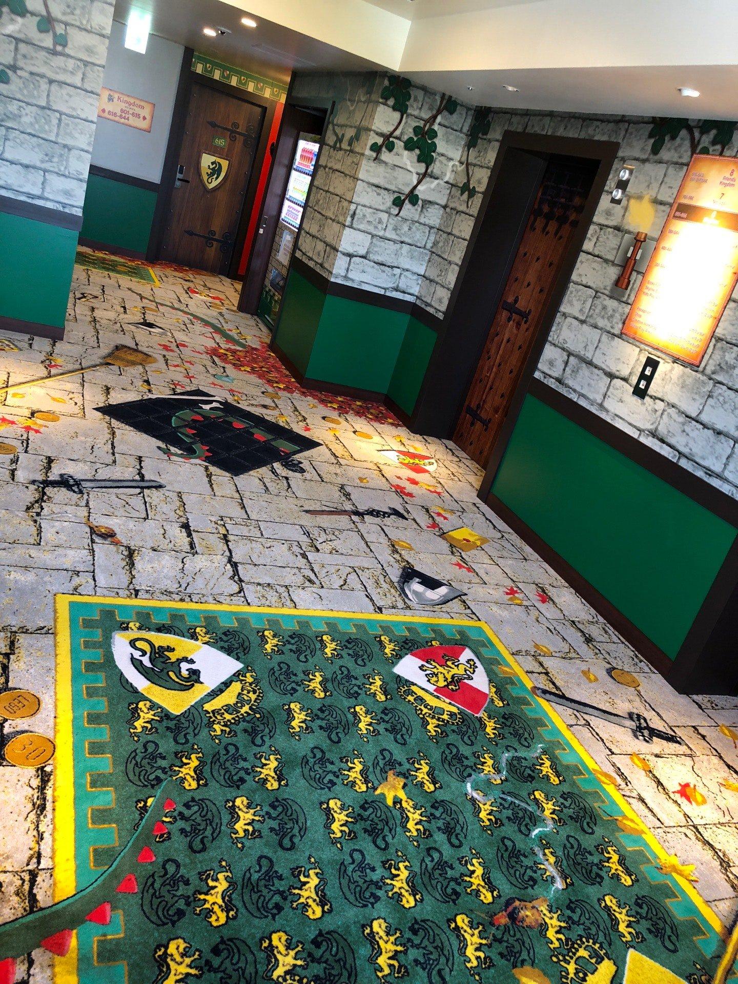 キングダムのフロア (@ レゴランド・ジャパン・ホテル in 名古屋市港区, 愛知県) https://t.co/CyZmSY1dU7 https://t.co/PKEL1oWd17