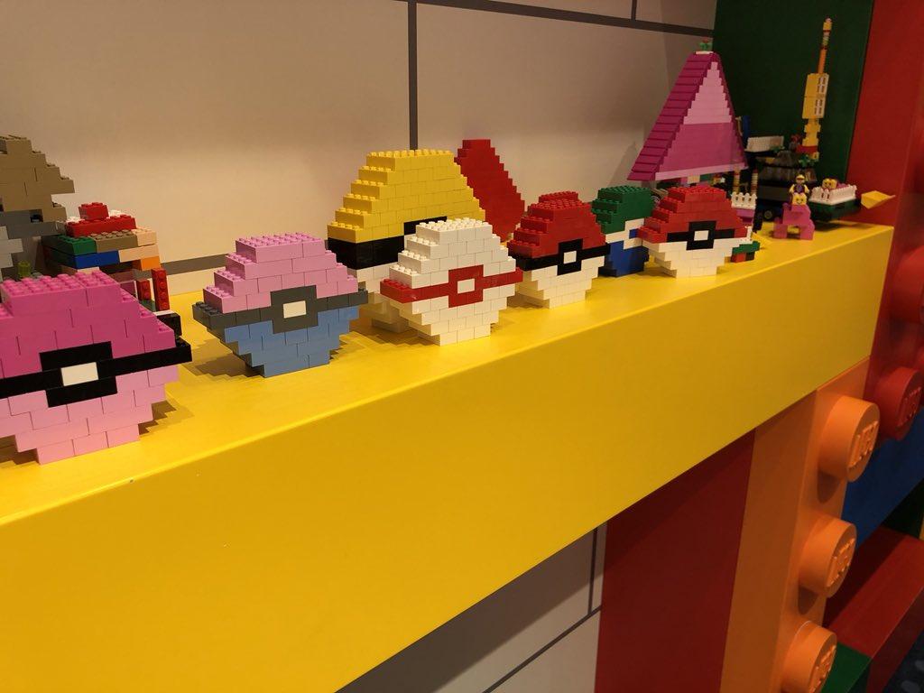 LEGOでポケモン的なモンスターボール https://t.co/ukW6lh0jVO