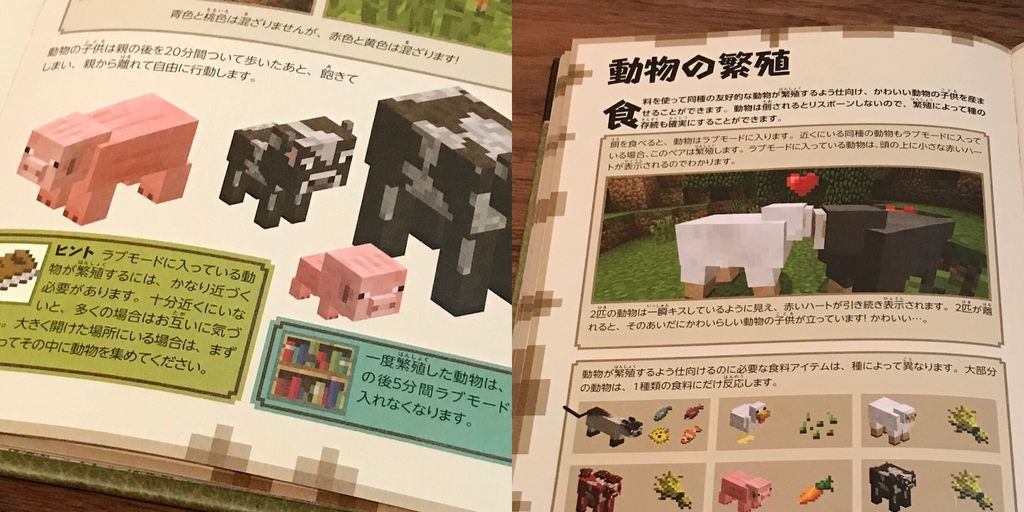(´;ω;`) 親離れ ブワッ  「動物の子供は親の後を20分間ついて歩いたあと、飽きてしまい、親から離れて自由に行動します」  Minecraft(マインクラフト)公式ビギナーズハンドブック | Stephanie Milton, Paul Soares Jr, Jordan Maron https://t.co/12cyHqLpfy https://t.co/W0mwkCRjXm