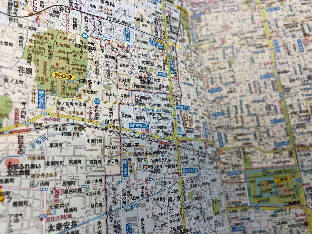卍がたくさん。  アトラスRDX 関西道路地図 B5 (2004年3月発行) https://t.co/vFdoYNHTOi