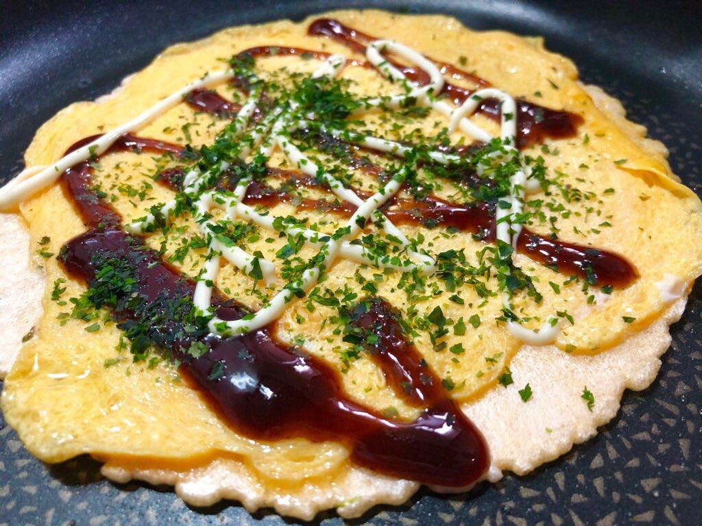 夕飯に名古屋名物たません (゚д゚)ウマー https://t.co/fHt752ytrG