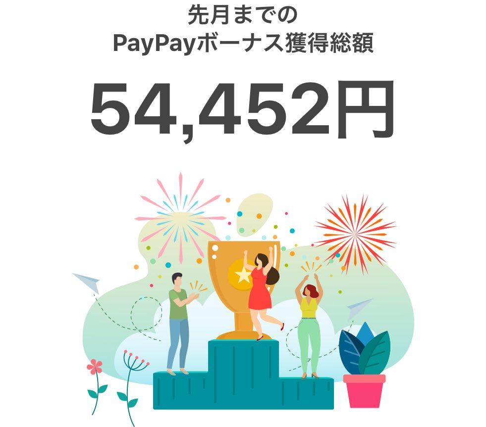 【実はこんなに】わたしの獲得PayPayボーナス!! #PayPay #PayPayボーナス #ありがとうPayPay https://t.co/l5J9tOAvc8