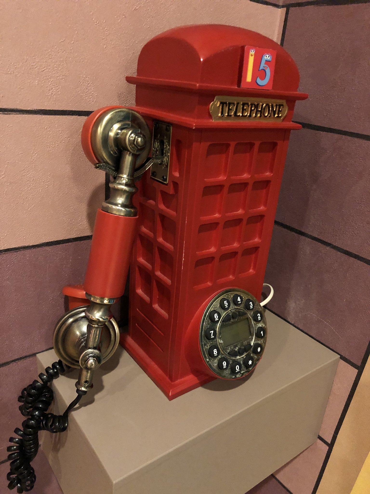 この電話、飾り物かと思ったけどもしかして使えるのかな。 https://t.co/WztsF2q7qj