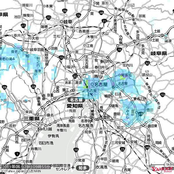 名古屋の天気(雨): やや強い雨 降水強度: 17.50(mm/h)  2019年06月28日 09時55分の雨雲 https://t.co/cYrRU9sV0H #雨雲bot #bot https://t.co/xauPXdtq7b