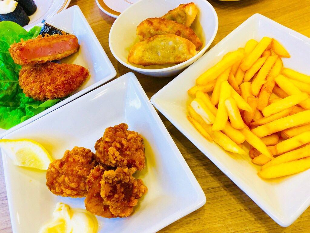かっぱ寿司で寿司を食べない昼食 https://t.co/U1FAjPG3jY