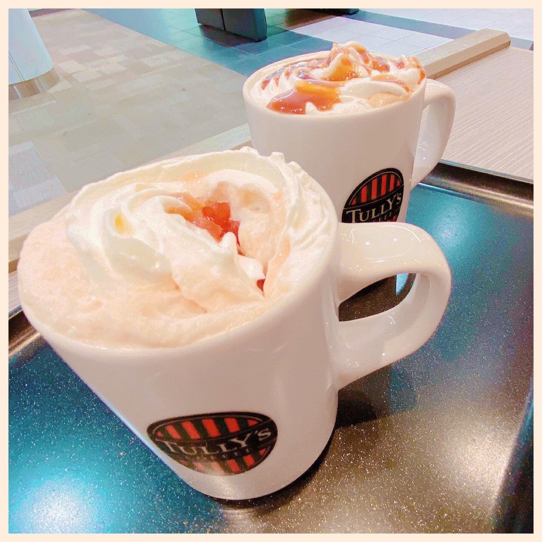 アップルキャラメリゼ ロイヤルミルクティー (゚д゚)ウマー (@ Tully's Coffee - @tullys_jp in 豊山町, 愛知県) https://t.co/D0v0LCJhQ0 https://t.co/b5Bvux303s