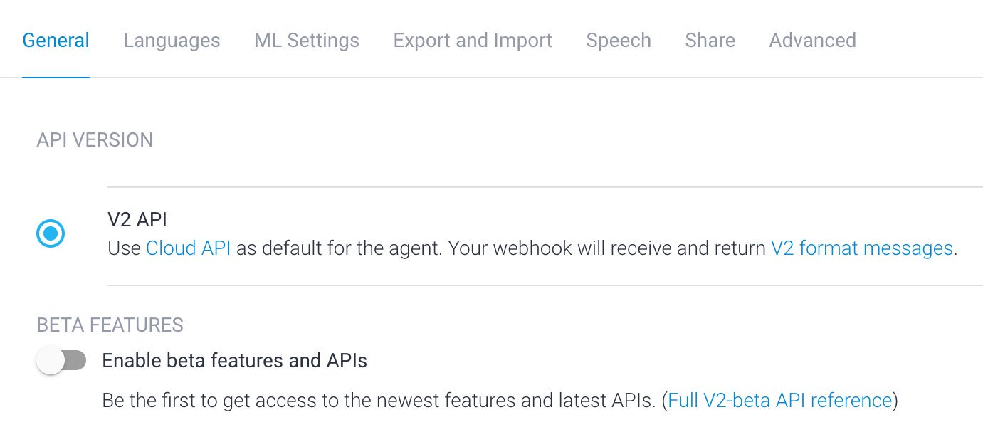 """やっぱり Export and Import で新しく作ったエージェントを使うのはやめにして、元のエージェントの API を V1 から V2 に変更して完了。Google アシスタント対応アプリの審査には最大で3営業日かかるらしい。 """"It must still complete a final review, which may take up to 3 business days"""" https://t.co/r4QnO84etT"""