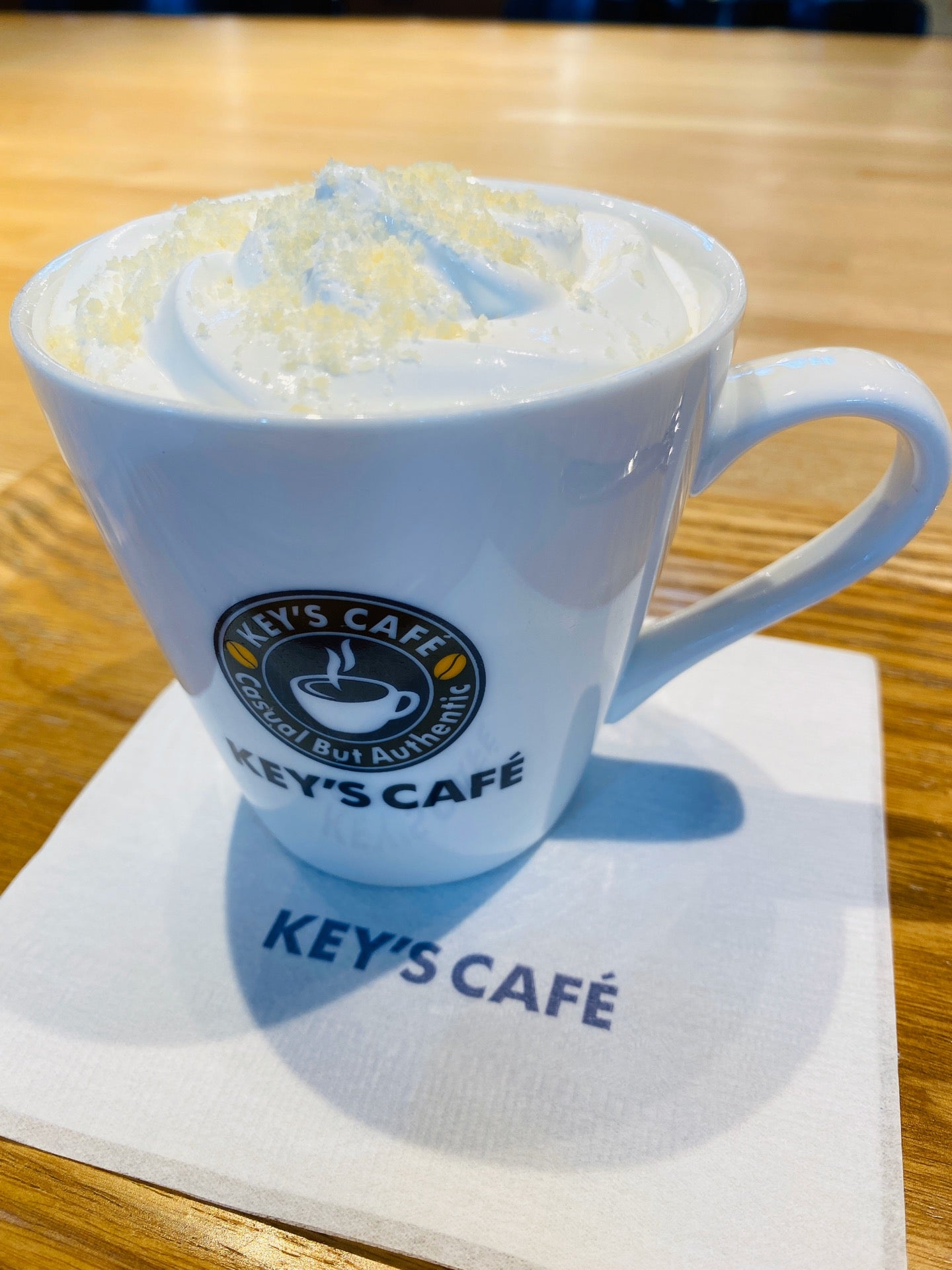 Cheese Cake Latte Cafe & Tea (@ キーズカフェ ビックカメラ名古屋JRゲートタワー店 - @bic_keyscafe in 名古屋市, 愛知県) https://t.co/mCzxcsmhIy https://t.co/Hi6QNQcJU9