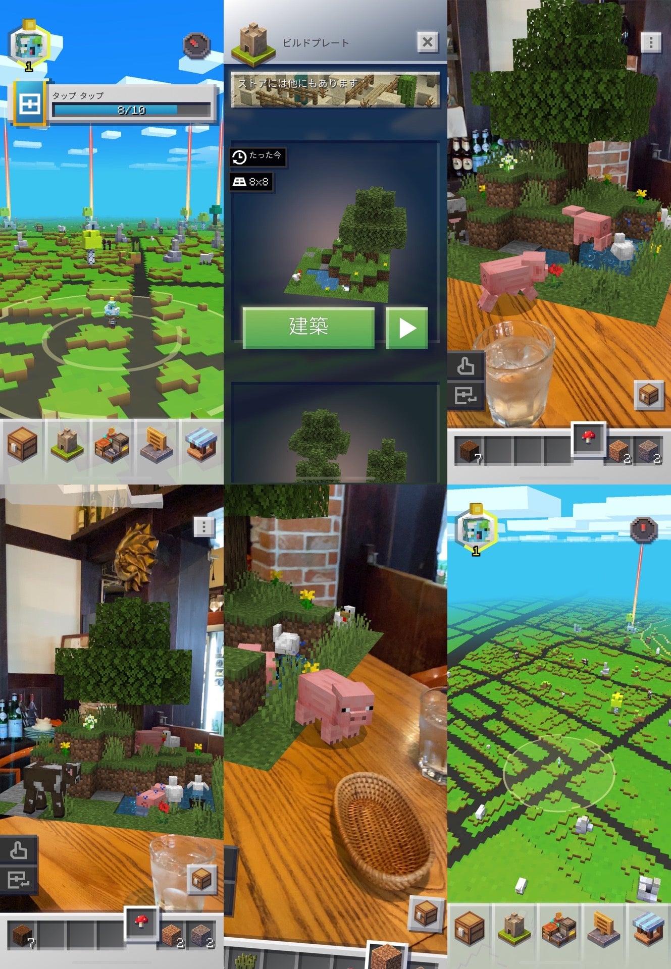 Minecraft Earth ワールドからブタさん出てきてる🐽(゚ω゚) (@ イタリア料理 Kan in 小牧市, 愛知県) https://t.co/yjH5PUZScQ https://t.co/IqhnoK3e92
