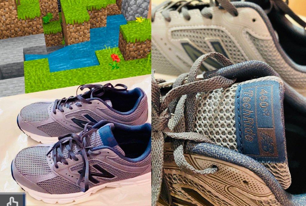 new balance ニューバランス TechRide M460 CD2 190460 靴幅2E Gray / イオンの靴屋でブラックフライデー30%引きとか他の値引きとかあって3500円ぐらいで購入。ネットショップだとだいたい5000円超えるぐらいなのかな。靴は型番とかで探しにくい。 https://t.co/5SwE0zgOa9