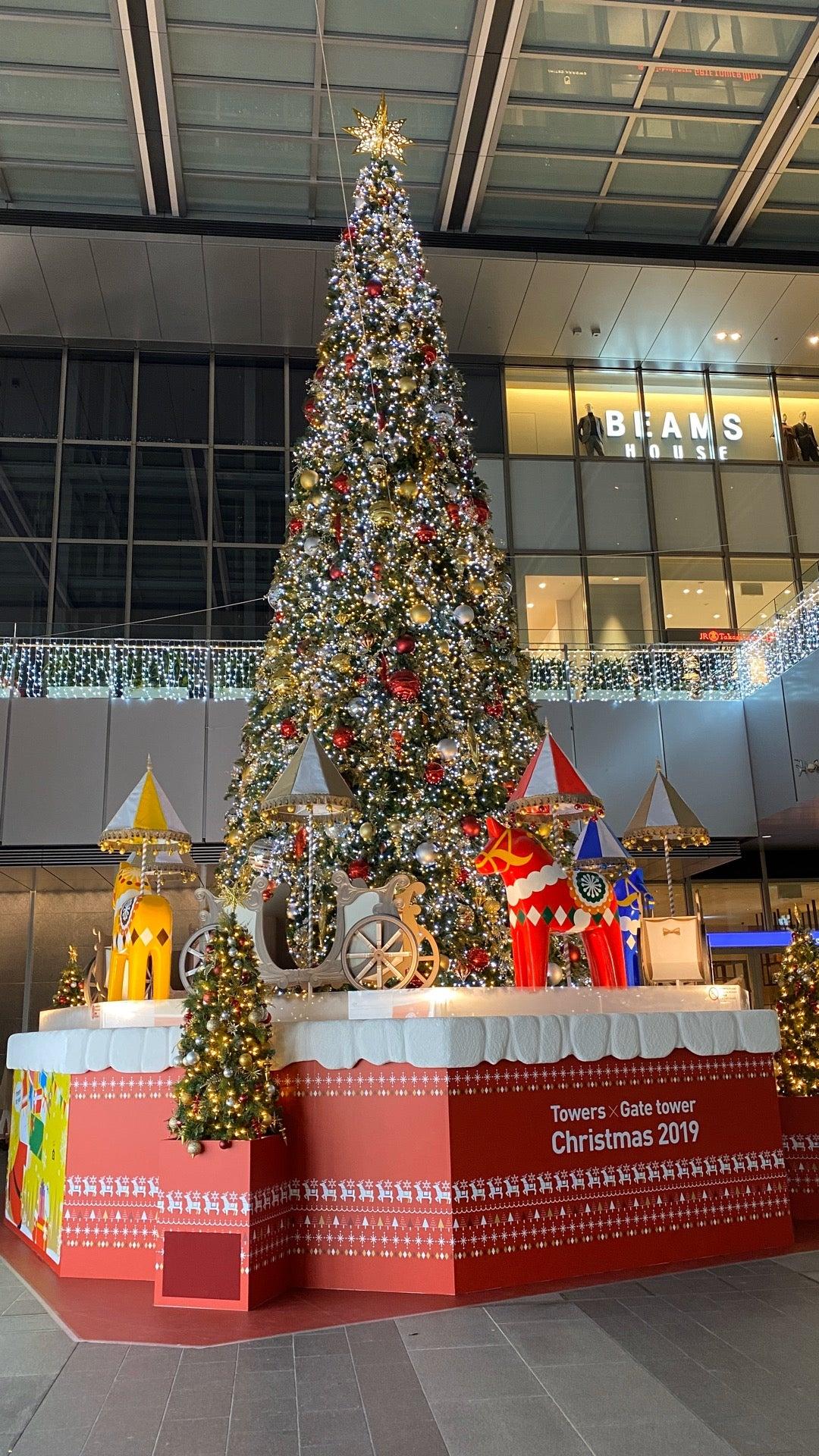 クリスマスツリー (@ 名古屋駅 in 名古屋市, 愛知県) https://t.co/B44PgveO80 https://t.co/xbREgcPSns