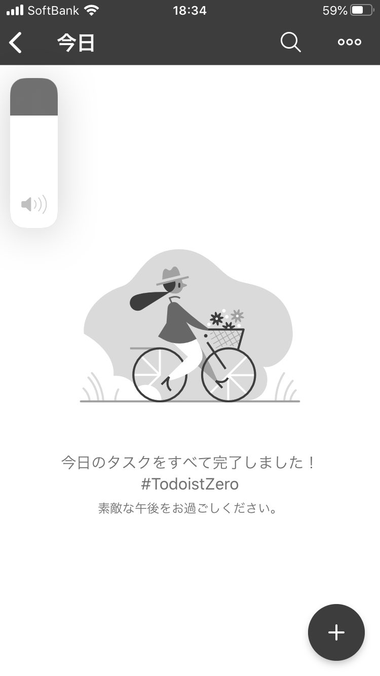 (∩´∀`)∩ワーイ #TodoistZero !!! https://t.co/lLdPTEIk8B