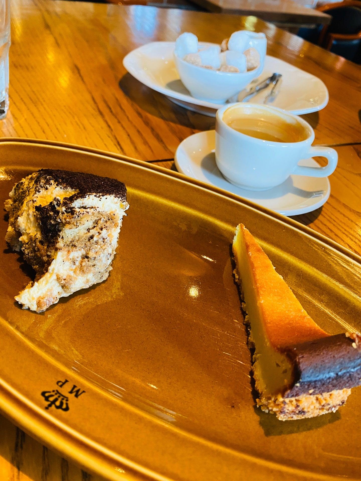 エスプレッソとティラミスとゴルゴンゾーラのチーズケーキ (@ イタリア料理 Kan in 小牧市, 愛知県) https://t.co/BBf5leQioC https://t.co/DRSedrCgHL