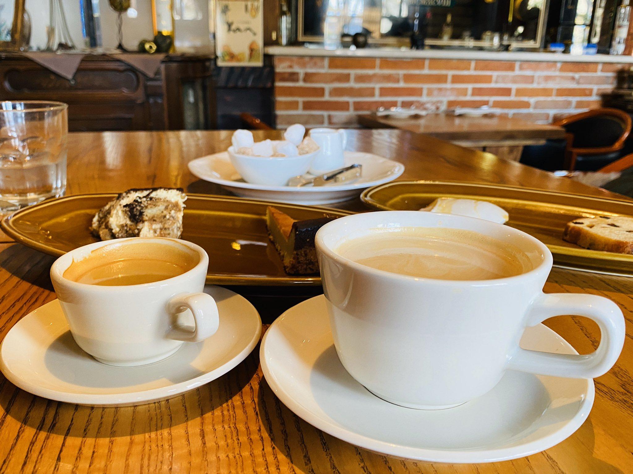 エスプレッソ VS コーヒー https://t.co/nlXXMPcAiO