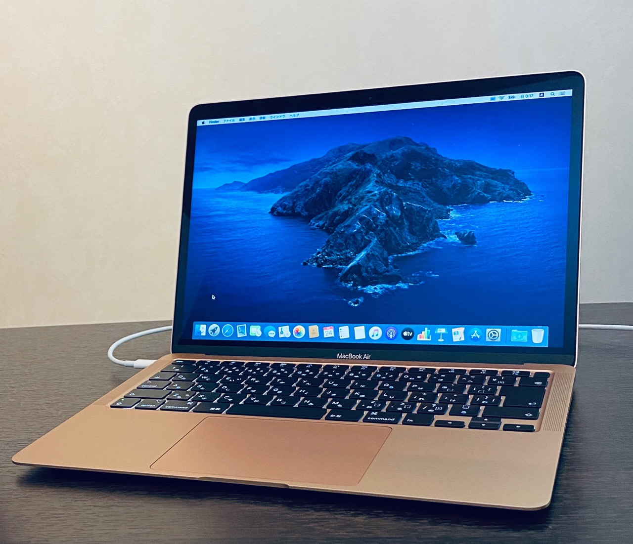 MacBook Air 2020 ヽ(=´▽`=)ノ ここから自分好みに設定していく。 https://t.co/jl4Wco85jV